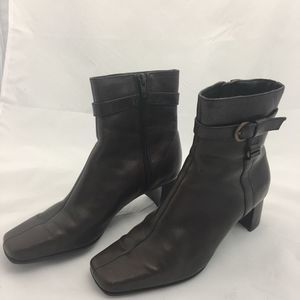 "Nine West Booties 2"" Heels Size 6M"